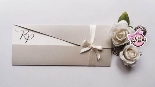 partecipazione matrimonio asimmetrica con iniziali sposi