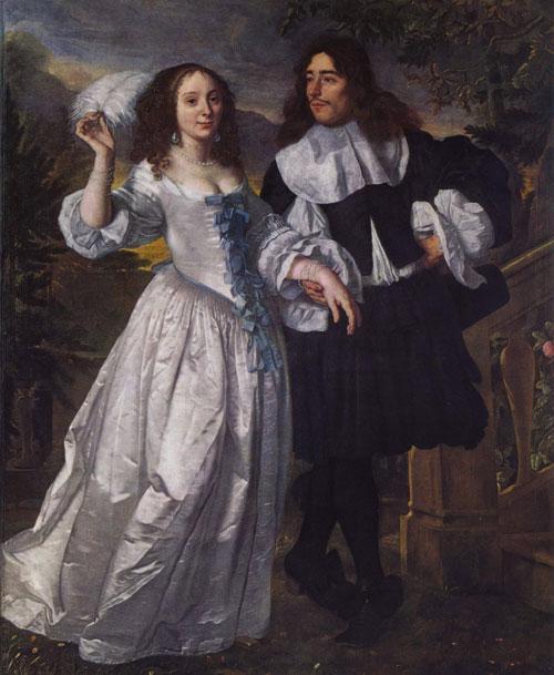 Bartholomeus van der Helst - Ritratto di una coppia sposata -1661