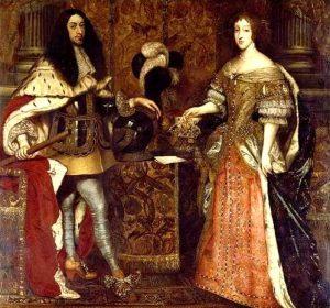 Ferdinando di Baviera e la moglie Enrichetta di Savoia