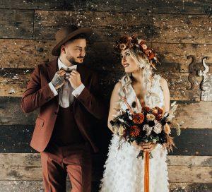 Tante idee per il matrimonio in Autunno-sposi