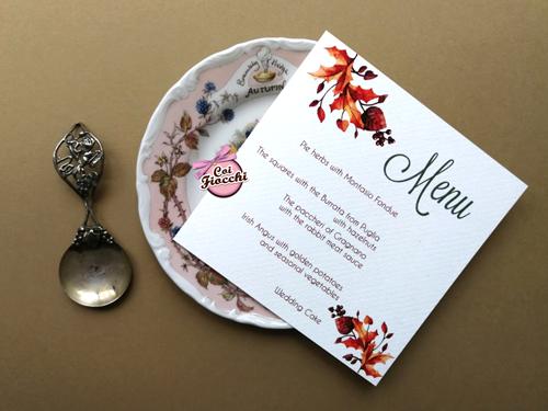 menu-per-il-matrimonio-a tema autunno con foglie