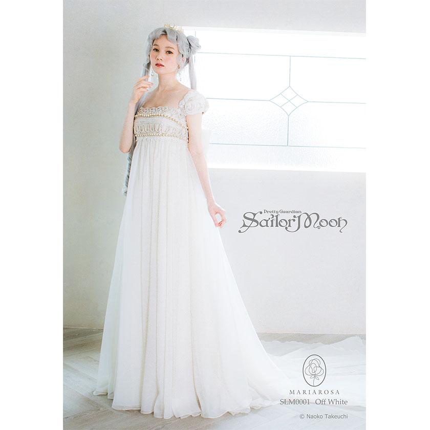 abito da sposa ispirato al vestito della principessa serenity