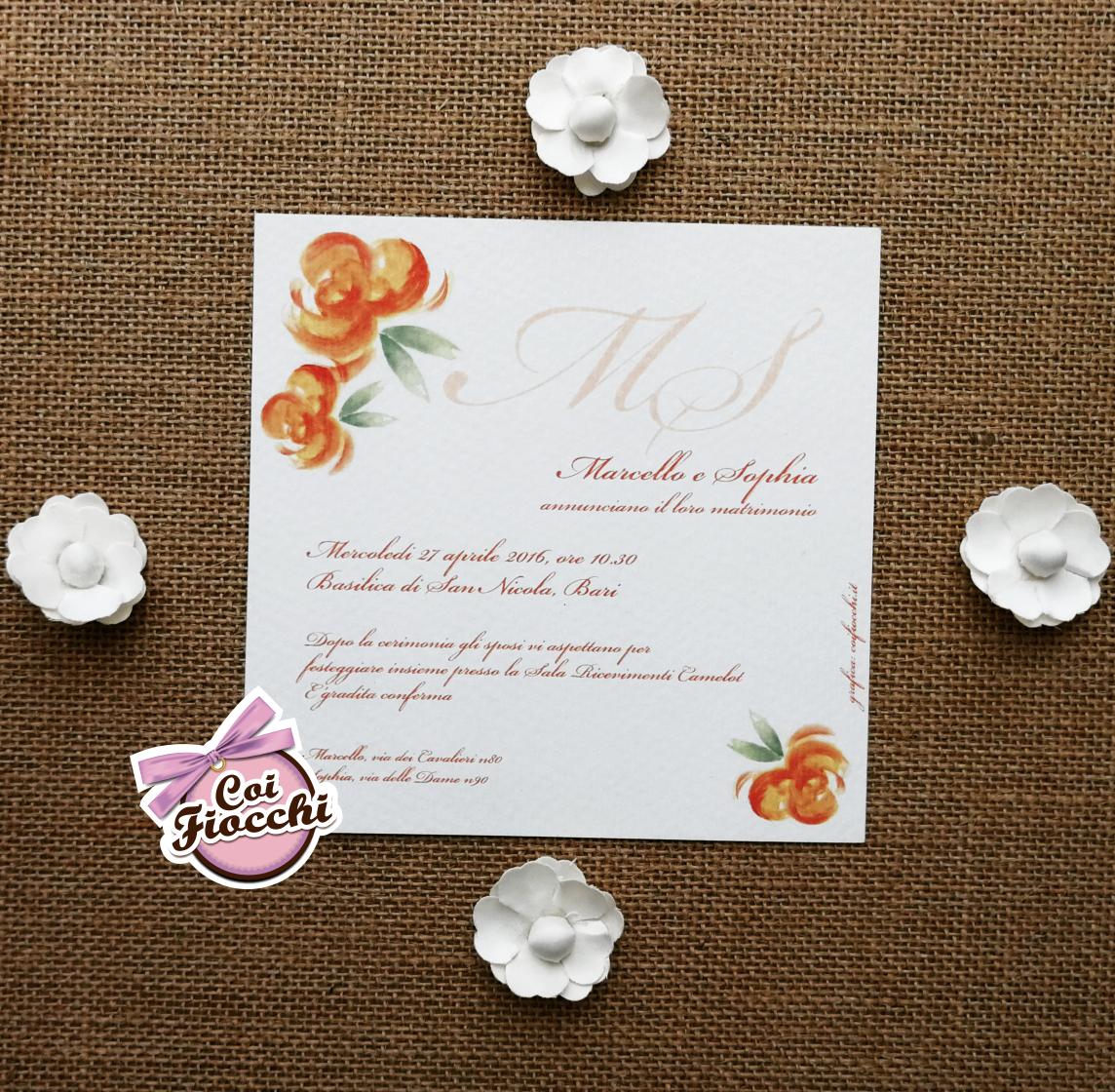 Partecipazione-boho-chic-fiori-acquerello-in promozione