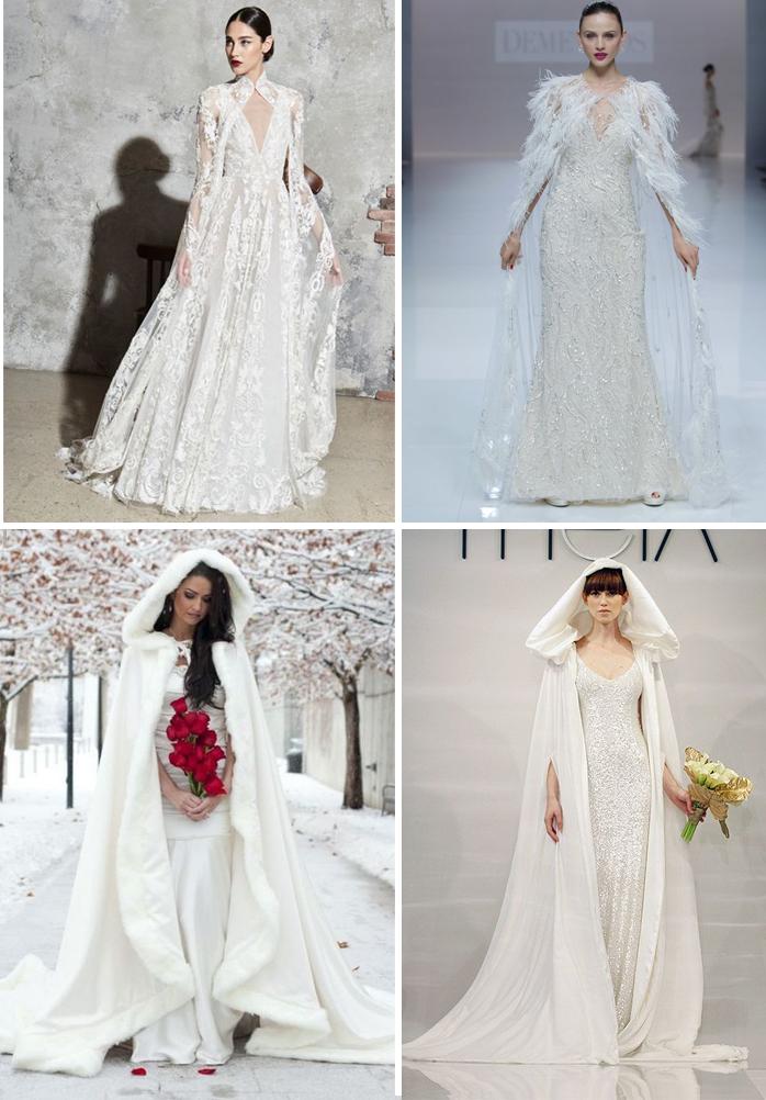 mantelli per la sposa invernale